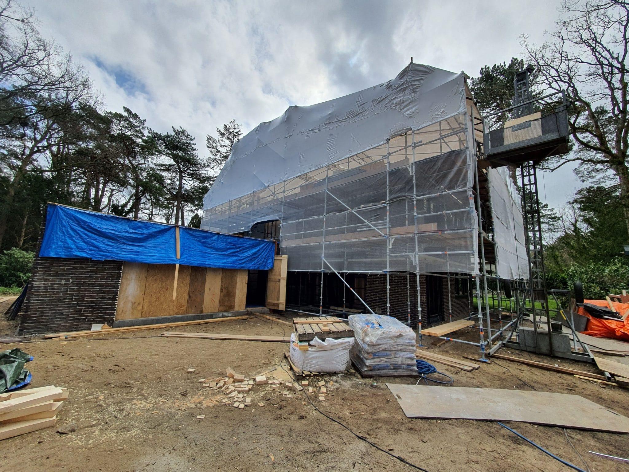 bouwtekening aanbouw